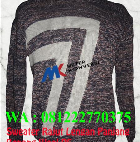 Konveksi Sweater Rajut