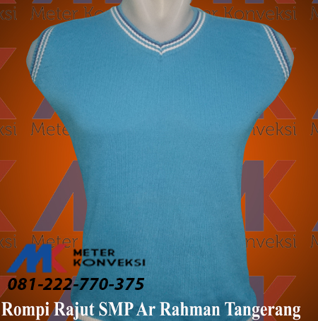 Rompi Rajut OSIS SMP Ar Rahman