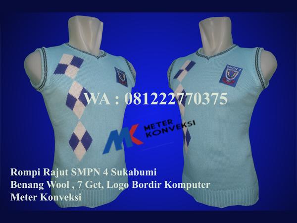 Rompi Seragam SMPN 4 Sukabumi